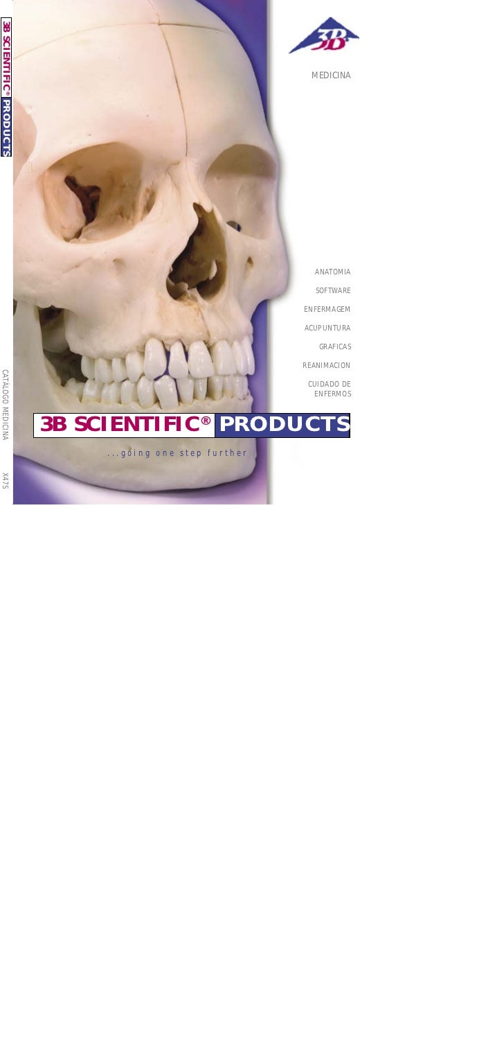 3B SCIENTIFIC ® P RO D U C T S                                                                     MEDICINA               ...