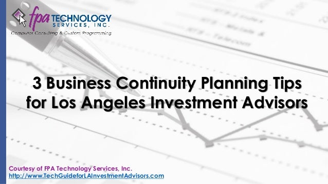 business planning advisors inc