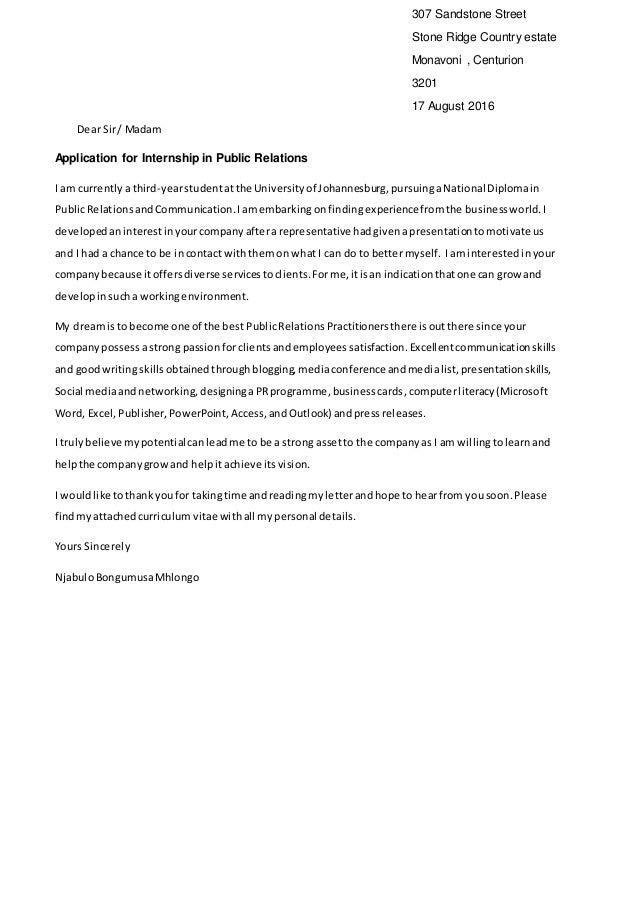 Motivation Letter For Internship from image.slidesharecdn.com