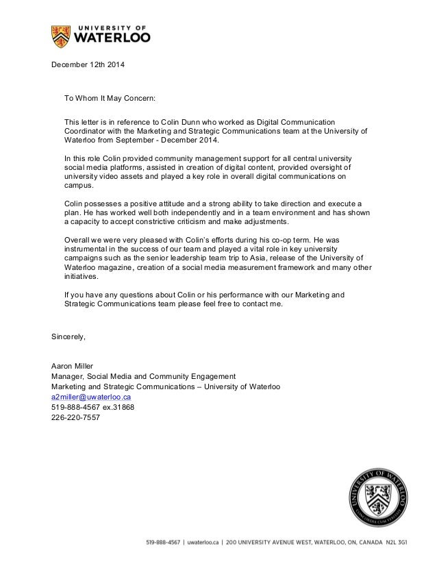 Msc reference letter december 12th 2014 to whom it may concern this letter is in reference to colin spiritdancerdesigns Images