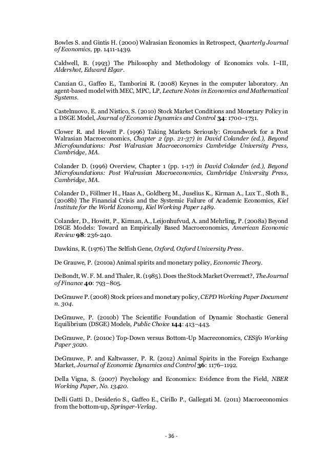 dsge models dissertation