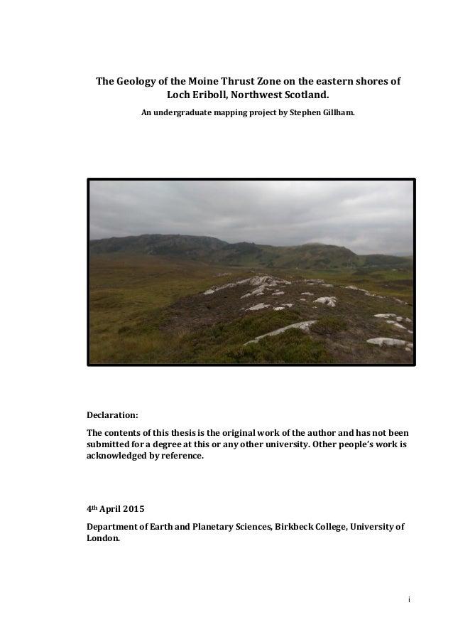 Phd thesis engineering geology