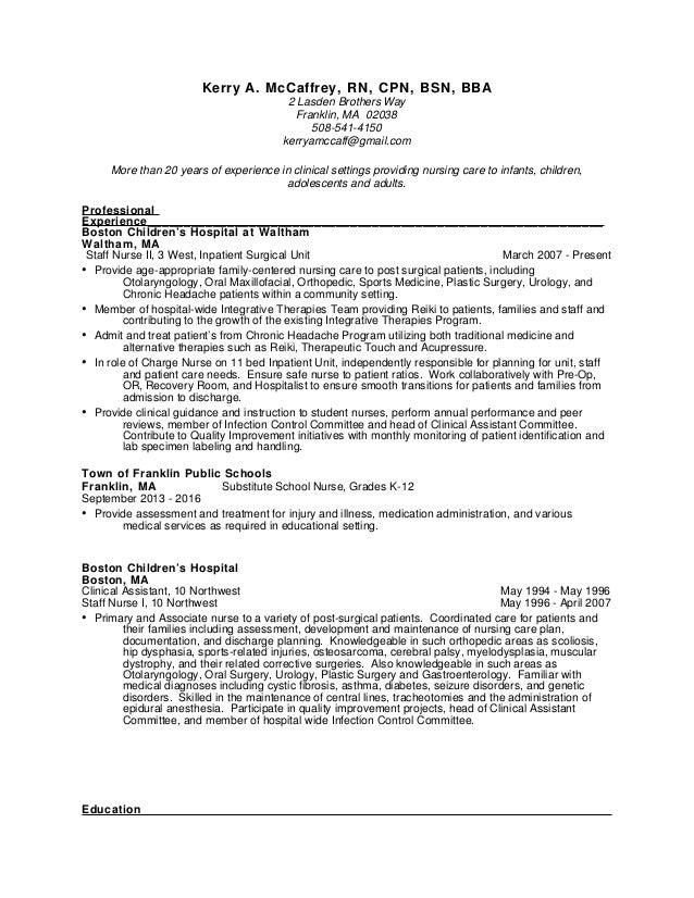 kerry resume 2017 2