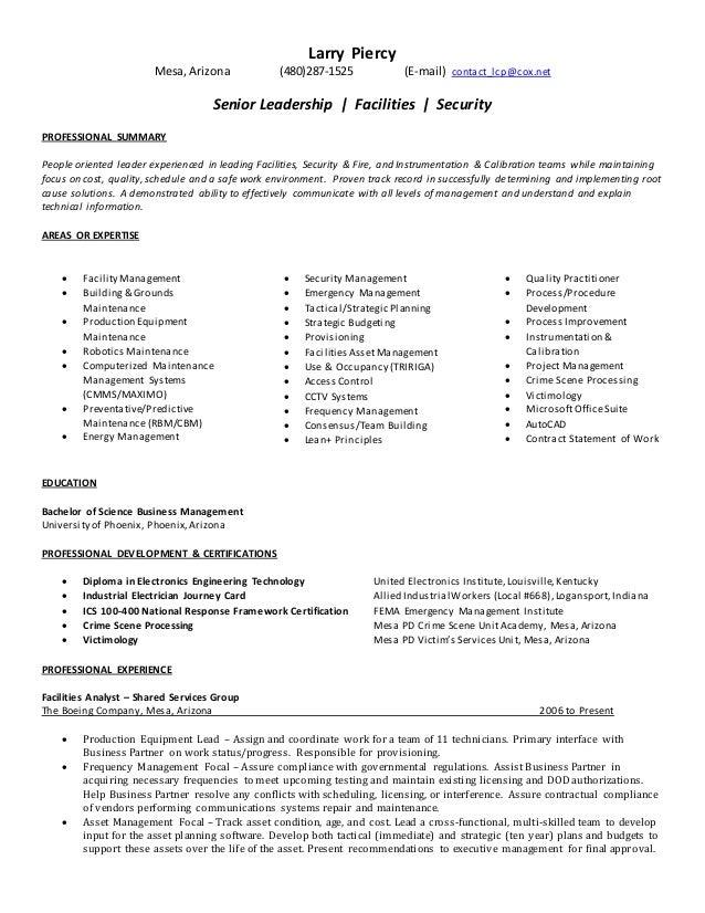 Generic Resume 11132014