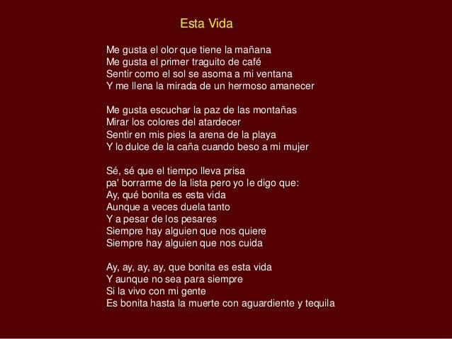 Esta Vida Lyrics - Musixmatch