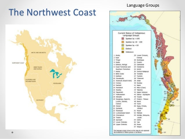 Indigenous Peoples Of The Pacific Northwest: Map Of Pacific Northwest Coastline At Usa Maps