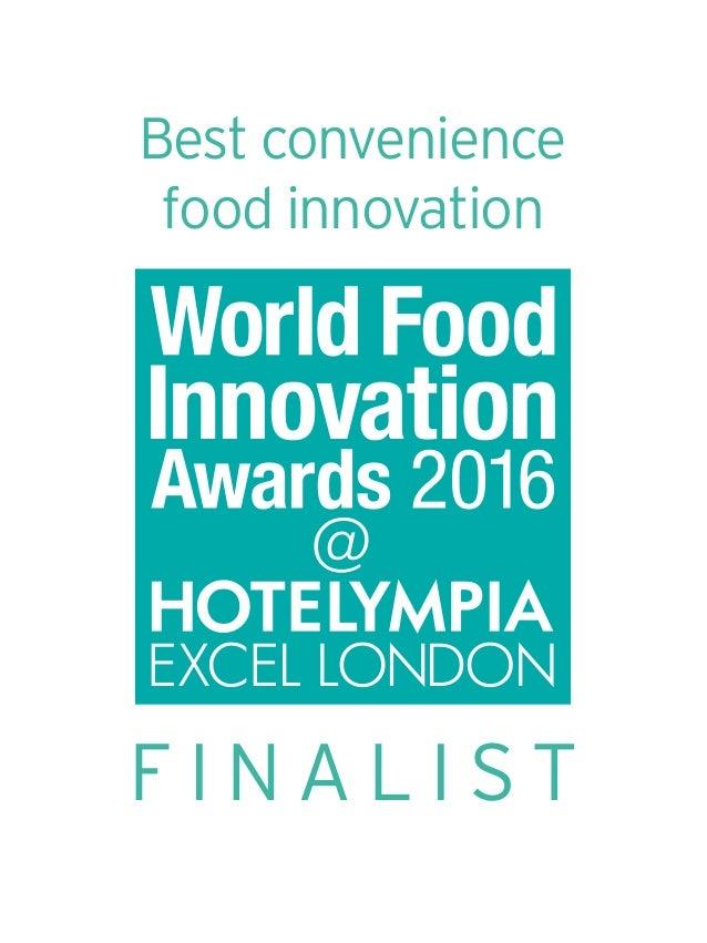 F I N A L I S T Best convenience food innovation