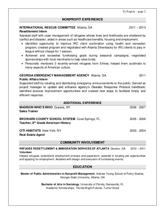 emergency manager resumes - 28 images - emergency management resume ...