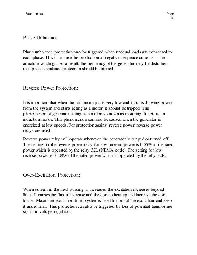 report bqps ii saad janjua rh slideshare net  protech flux 5000 manual