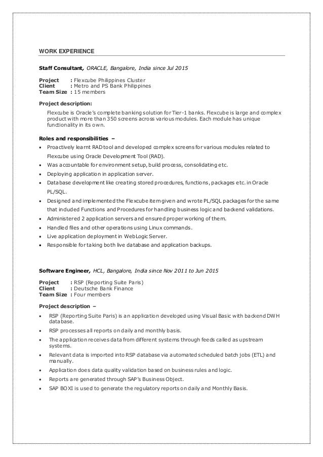 Famous Resume Data Bank Philippines Pictures Inspiration - Wordpress ...
