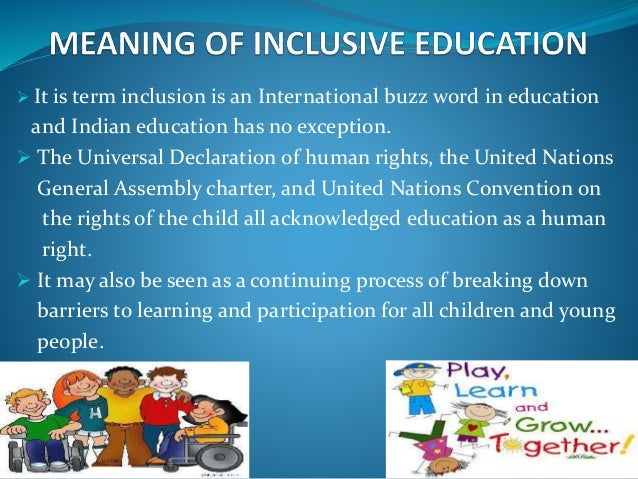 what is meant by the term educational inclusion The development of britain's anti-discrimination laws took place around the 1970s, aiming to tackle unfair discrimination towards some groups of people in education, employment and the provision of services.