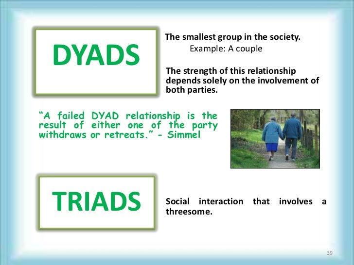 dyad and triad relationship videos