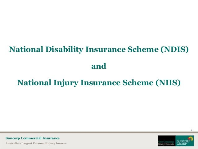 The National Disability Insurance Scheme A South ...