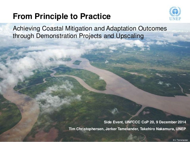 From Principle to Practice  Achieving Coastal Mitigation and Adaptation Outcomes  through Demonstration Projects and Upsca...