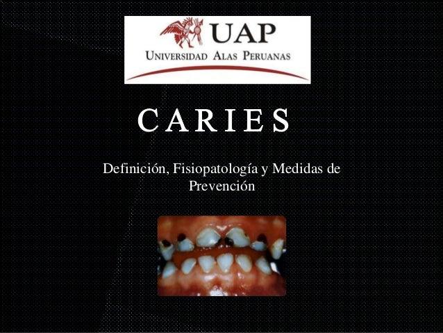 Definición, Fisiopatología y Medidas de Prevención
