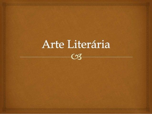   É o nome dado ao período literário que surgiu na época do Renascimento (Europa séc. XV a XVI). Um período de grandes t...