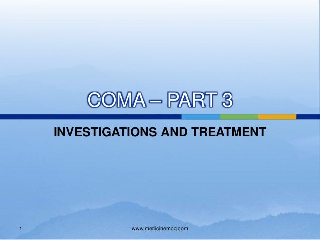 coma treatment San diego — myxedema coma, a rare but potentially fatal form of decompensated hypothyroidism, can be identified according to key clinical signs and successfully treated in most patients with 500.