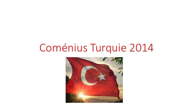 Coménius Turquie 2014