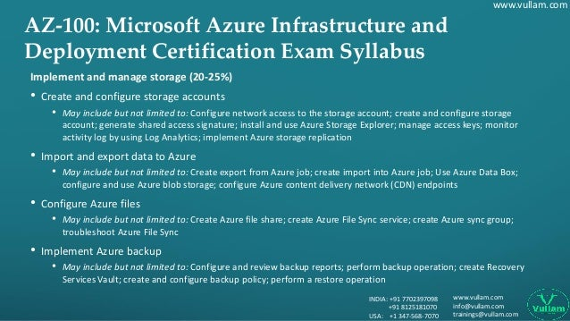 Complete Certification Guide on AZ-100 Microsoft Azure