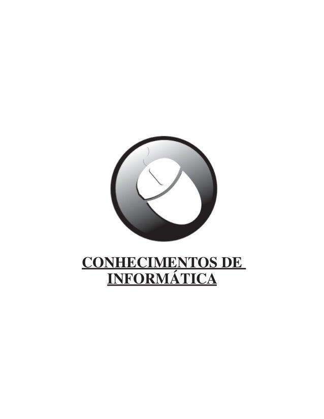 CONHECIMENTOS DE INFORMÁTICA