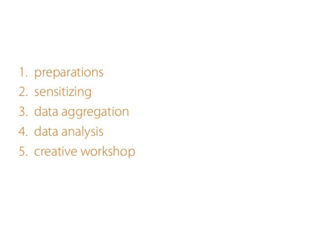 - intensification of users'involvement - creation of a common language - looking for inspiration on different levels - m...