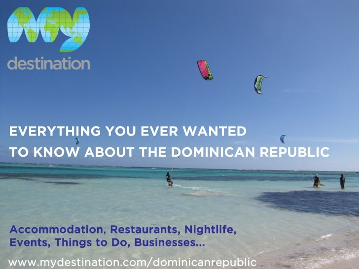 My Destination Dominican Republic