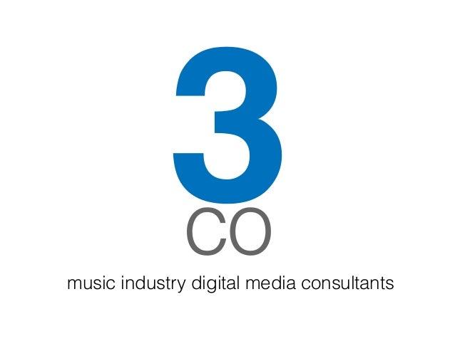 music industry digital media consultants