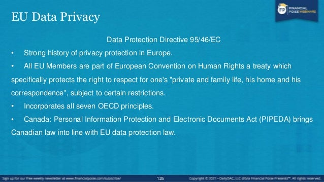 7 Principles Governing the OECD Recommendations In 1980, in an effort to create a comprehensive data protection system thr...
