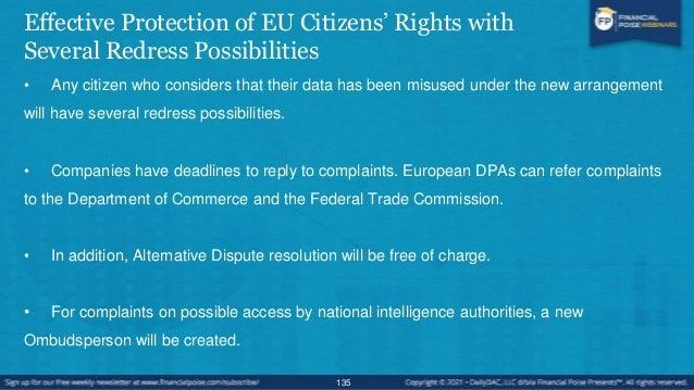 EU General Data Protection Regulation GDPR • EU General Data Protection Regulation - The EU is updating their 1995 Data Pr...