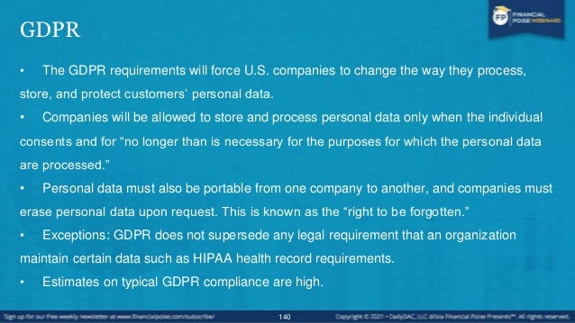 Common GDPR Readiness Issues - Examples 141 COMMON TRENDS EMERGING FROM OUR GDPR READINESS ASSESSMENTS DATA PRIVACY BY DES...