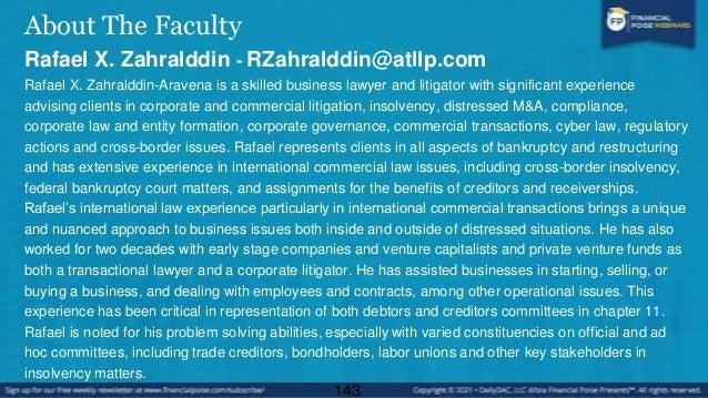 About The Faculty Steven Snyder - ssnyder@bradley.com Steve Snyder is a member of Bradley's Financial Services Litigation ...