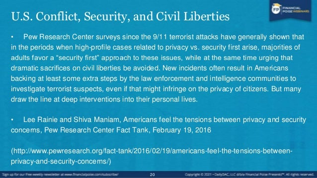 U.S. Consumer Privacy Concerns • As businesses increasingly mine data about consumers, Americans are concerned about prese...