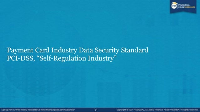 Introduction to PCI 52 PCI Data Security Standard Maintain Information Security Policy Regularly Monitor and Test Networks...