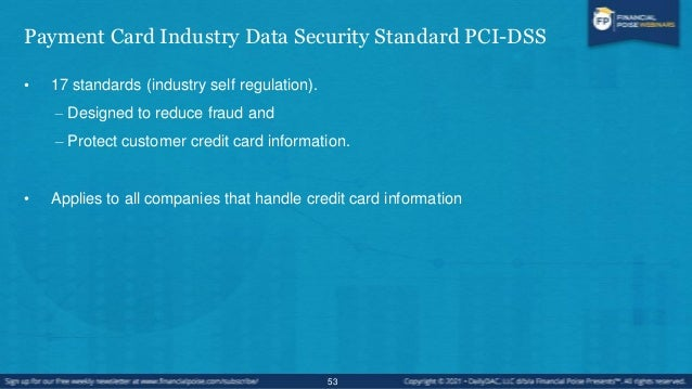History • The credit card industry has taken steps to protect personal information and the credit card process. • In 2004,...