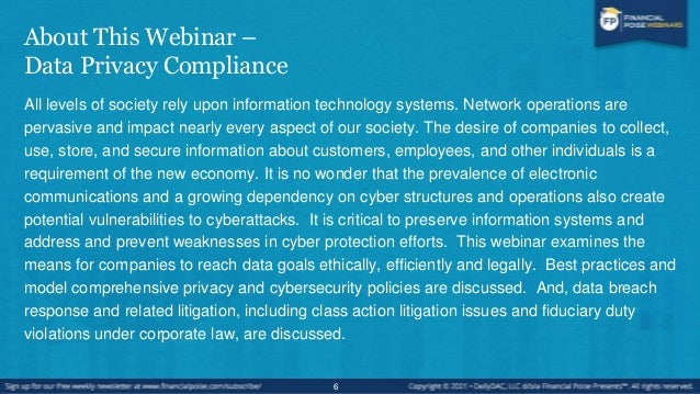 About This Series - Corporate & Regulatory Compliance Boot Camp This webinar series covers corporate and regulatory compli...