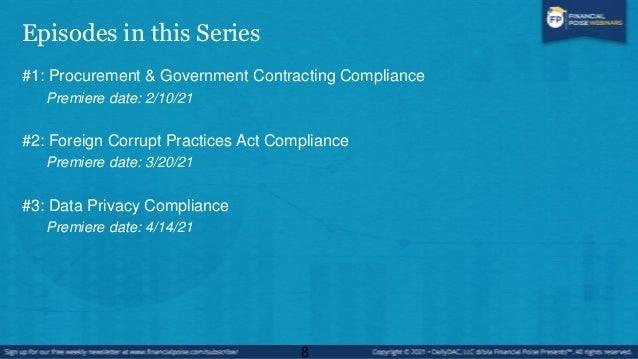 Episode #3 Data Privacy Compliance 9