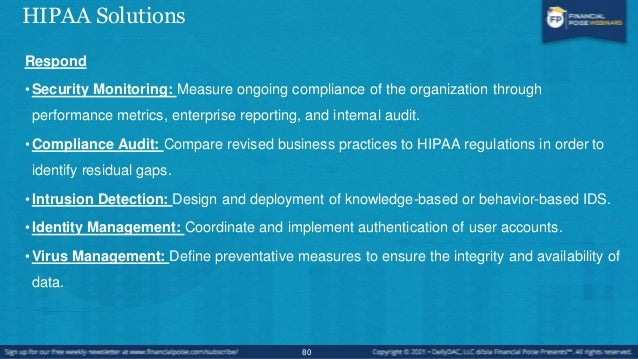 Major Areas/Efforts • Risk Assessment/Analysis • Develop and Document Policies & Procedures • Develop and implement securi...