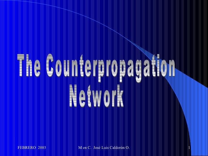 The Counterpropagation Network
