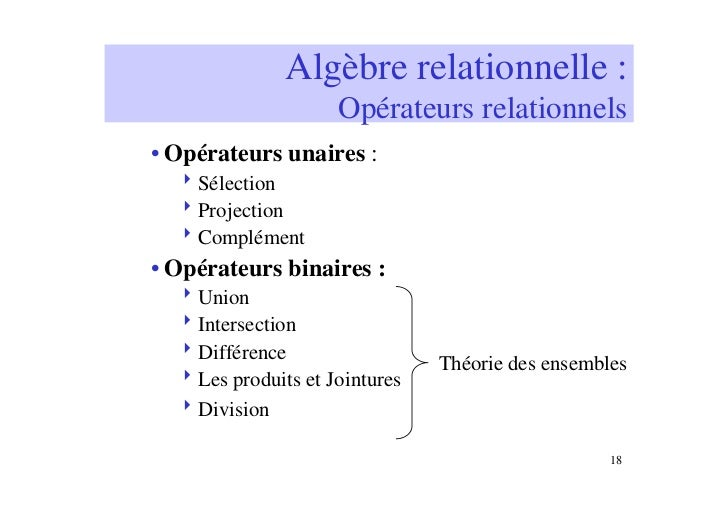 Calcul Relationnel Chapitre 4, Section ppt télécharger