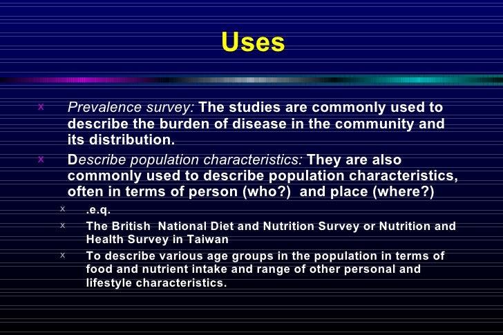 3 Cross Sectional Study