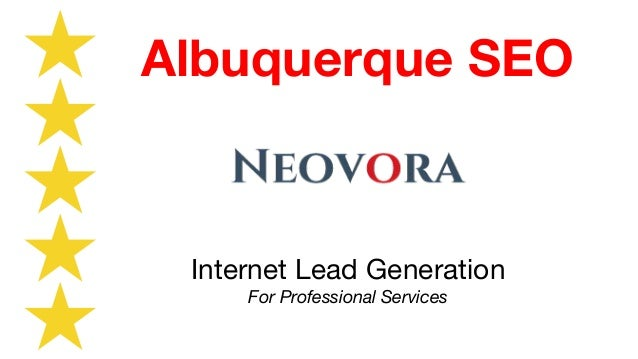 Internet Lead Generation For Professional Services Albuquerque SEO