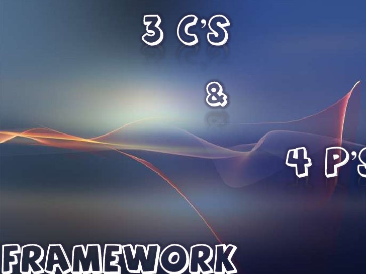 3 C'S        &             4 P'SFRAMEWORK