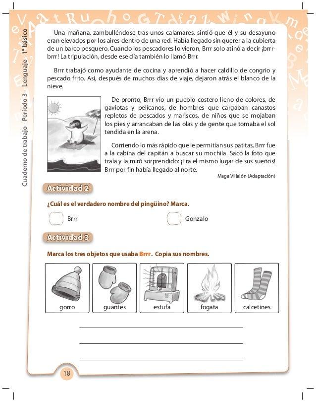 P3 cuaderno de trabajo 1 b sico lenguaje 2012 - Busco trabajo de ayudante de cocina ...