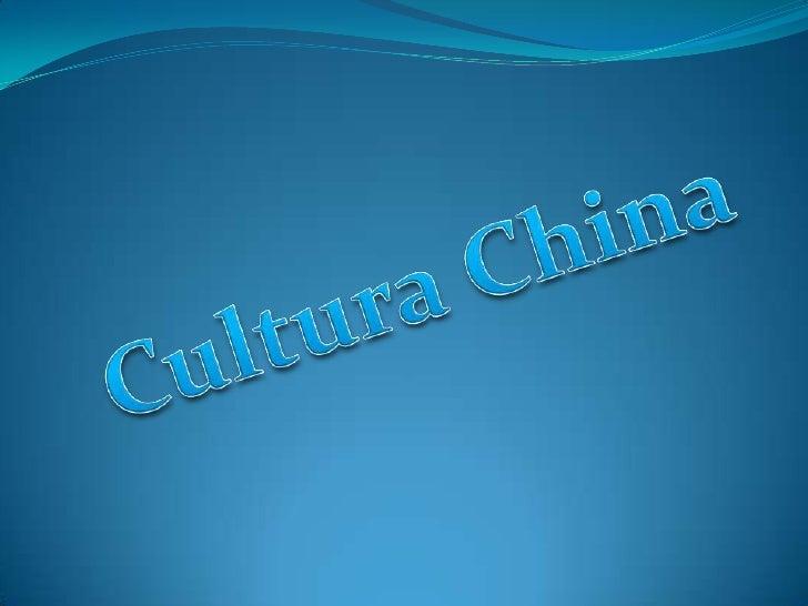 Cultura China<br />