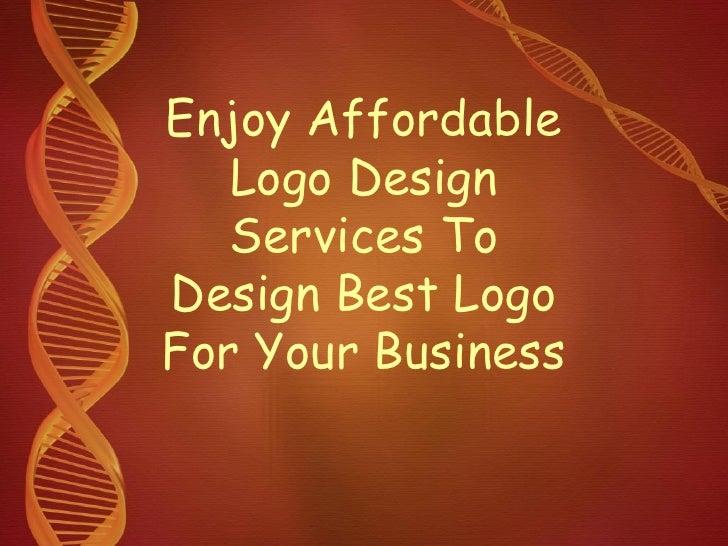 Enjoy Affordable Logo Design Services To Design Best Logo For Your Business