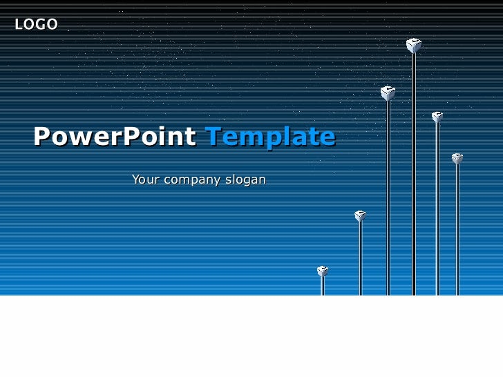 LOGO PowerPoint Template       Your company slogan