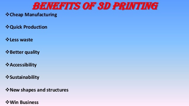 """a definition and uses of 3d model printing Our 3d printing processes and sls additive manufacturing services along with the use of advanced materials ensure accurate and reliable 3d printed products in general terms, we can define 3d printing as """"the process of making a physical object from a three-dimensional digital model, typically by laying down many."""