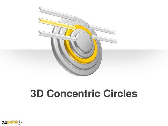 3D Concentric Circles