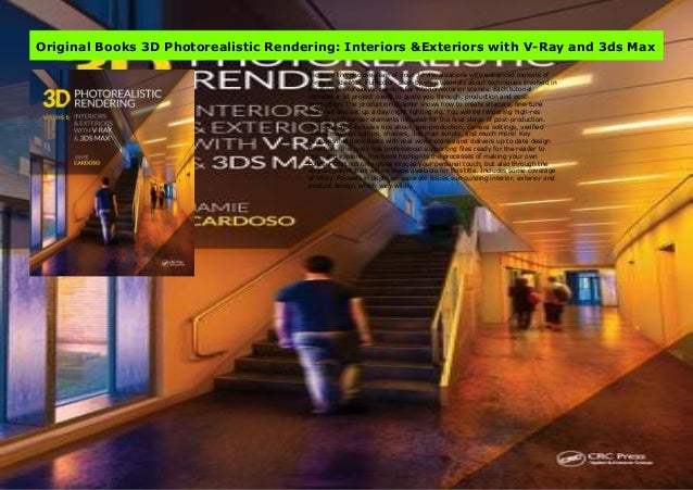 Original Books 3d Photorealistic Rendering Interiors Exteriors Wit
