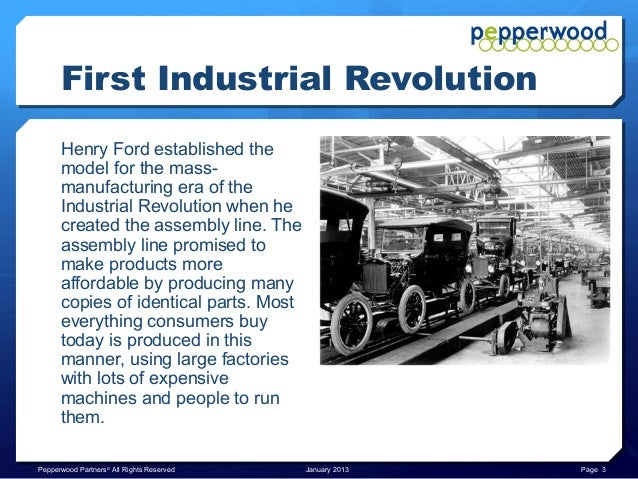 an introduction to the history of the 1st industrial revolution Much of the world had not yet begun a first industrial revolution russia, canada, italy, and japan were just beginning to world history center.